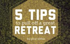 """Retreats don't have to be over-programmed, expensive, or even a whole weekend long in order to make a difference."" Gina Abbas shares a great post on the YS Blog to help you plan your next retreat."