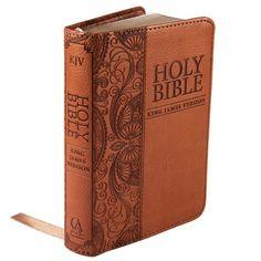 Holy Bible: KJV Mini Pocket Edition: Tan (King James Bible) by Christian Art Publishers