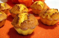 Portuguese Recipes - Popular Food Recipes from Portugal Portuguese Desserts, Portuguese Recipes, Portuguese Food, Cupcake Recipes, Cupcake Cakes, Dessert Recipes, Orange Cupcakes, Orange Muffins, Sweet Pastries