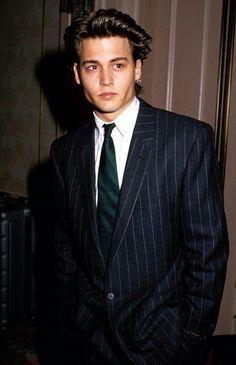 Johnny Depp looking fancy in can find Johnny depp and more on our website.Johnny Depp looking fancy in 1988 Johnny Depp Wallpaper, Young Johnny Depp, Vintage Cartoons, 90s Cartoons, Vintage Toys, Brad Pitt, Beautiful Boys, Pretty Boys, Beautiful People