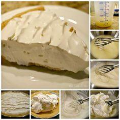 Lemon Ice Box Pie recipe from Joy @ the Sowell life