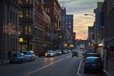Downtown Providence - Rhode Island - (Nick Millard Photo)