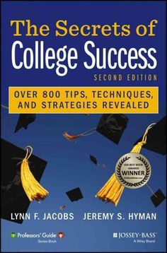 Heading off to college? Or perhaps already there? This book's just for you. Winner of the 2010 USA Book News Award for best book in the college category, The Secrets of College Success combines easy-t