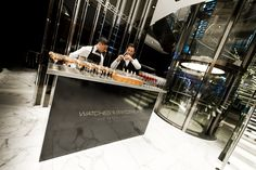 Watches of Switzerland | Regent Street, London | Personalised Bar | Stones Events