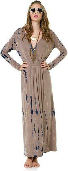 Fraiche by J Hartley tie dye maxi dress. http://www.swell.com/New-Arrivals-Womens/FRAICHE-BY-J-HARTLEY-TIE-DYE-MAXI-DRESS-1?cs=TA