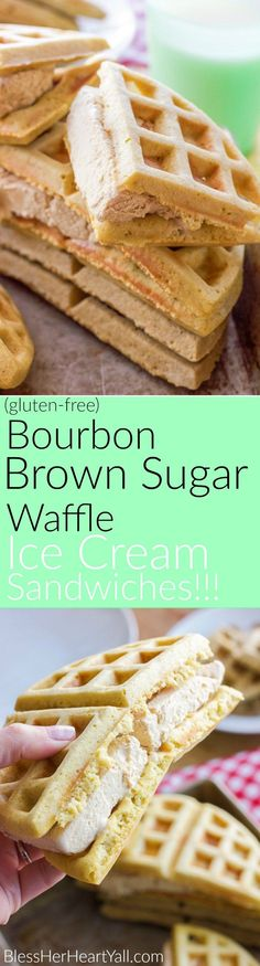 Brown Sugar-Bourbon Ice Cream Recipe — Dishmaps