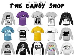 I'LL TAKE YOU TO THE CANDY SHOP! OF DIRECTIONER MERCH!!!!