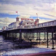 Brighton Pier. Someday I'll go there again <3