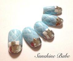「Sunshine Babe♡京都西陣、箔デザイン」の画像 LOVENAIL  Ameba (アメーバ)