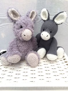 Donkey Toy knitting project shared on the LoveKnitting Community