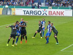 16.08.2014 1. FC Magdeburg - FC Augsburg 1907 1. Runde DFB-Pokal, 17854 Zuschauer. Der 1. FC Magdeburg gewinnt mit 1:0. everydaysecrets74... #Magdeburg #Fußball #DFB #Augsburg #Sieg