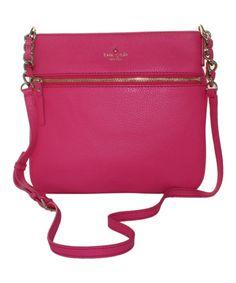 Kate Spade Love Pink Ellen Cobble Shoulder Bag