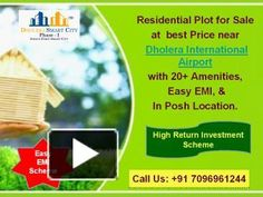 Book your own Plots in Dholera (India's First Smart City) on Fedara-Pipli Highway near Dholera International Airport.