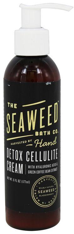 Buy Seaweed Bath Company - Wildly Natural Seaweed Detox Cellulite Cream - 6 oz. at LuckyVitamin.com
