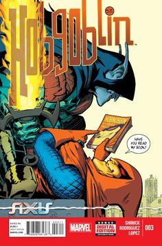 Axis: Hobgoblin # 3 by Javier Rodriguez