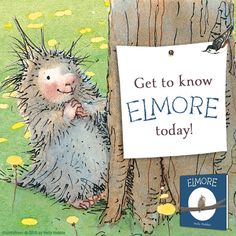 New from the creator of the Toot & Puddle series! Meet Elmore, a lovable pocupine who's having a hard time making friends.