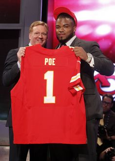 Dontari Poe, Memphis - C-USA's highest draft pick, taken 11th by the Kansas City Chiefs