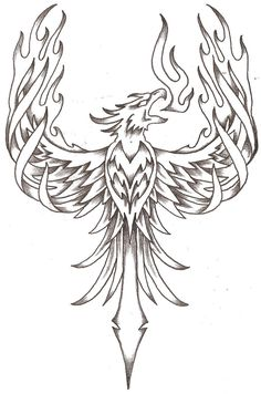 Phoenix Tattoos | Phoenix Firebird By Thelob On Deviantart - Free Download Tattoo #40997 ...