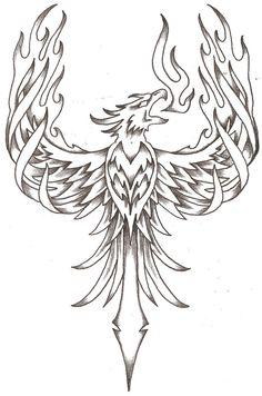 Phoenix Tattoos | Phoenix Firebird By Thelob On Deviantart - Free Download Tattoo #40997 ...