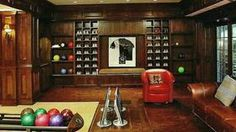 home bowling alley - Google Search
