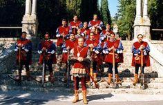 Balestro del Girifalco,May and August, Massa Marittima, Maremma, Tuscany, Italy