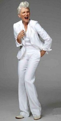 Maye Musk..love her attitude!!!