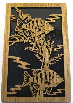 Scroll saw handcut sunfish picture2fr by ScrollSawTreasures, $42.50