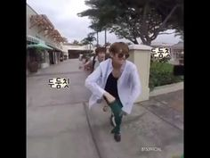 BTS V taehyung dance in public - YouTube