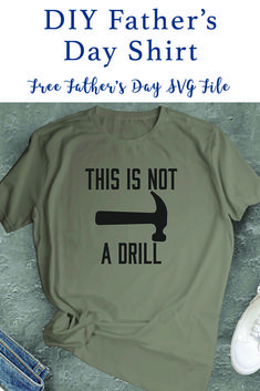 Make this funny shirt for dad with the F*R*E*E SVG File from Everyday Party Magazine #FathersDaySVG #FunnySVGFiles