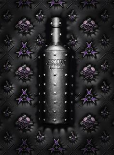 Visual for the Absolut Rock print campaign.