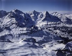 Eiger, Mönch, Jungfrau. LBS_L1-760691 Image Archive, Switzerland, Mount Everest, Mountains, Nature, Photos, Travel, Naturaleza, Viajes