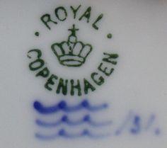 Dating royal copenhagen porcelain antique