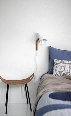 Filly Wall Lamp is ideal as a reading lamp.