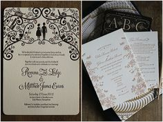 Artcadia - Chic and Creative Letterpress Wedding Stationery