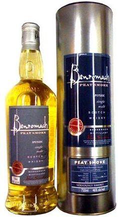 "Benromach ""Peat Smoke"" Single Malt Scotch Whisky (Speyside, Scotland)"
