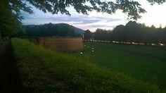 #Lucca  - Passeggiata delle Mura - #Tramonto
