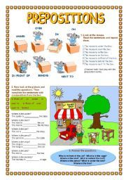 prepositions of place exercises with pictures articles detailenglish worksheets. Black Bedroom Furniture Sets. Home Design Ideas