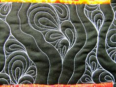 The Free Motion Quilting Project: Quilt Along #36: Quilting Trapped Paisley