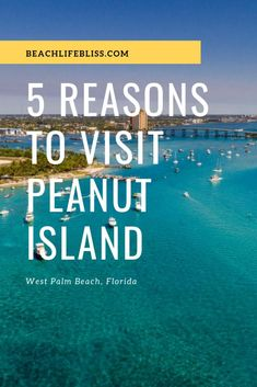 Peanut Island in West Palm Beach – Palm Beach County – So Pretty! Peanut Island in West Palm Beach – Palm Beach County – So Pretty! West Palm Beach Florida, Palm Beach County, Florida Beaches, Riviera Beach Florida, Peanut Island, Florida Travel, Florida Vacation, Lake Worth, Enjoying The Sun