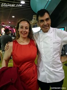 Chef Ramón Freixa & Irene, April 2014