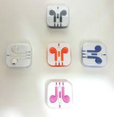 Headset Headphones Earphones Earbud Remote Mic For Apple iPod iPad iPhones 3.5mm