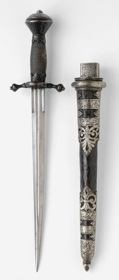 Philadelphia Museum of Art - Collections Object : Dagger with Sheath - German, c. 1580  - Kienbusch collection
