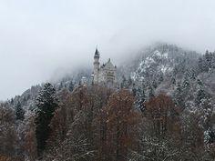Neuschwanstein Castle, Bavaria, Germany : travel