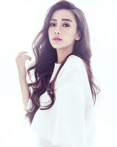 chinese, model, and angelababy image Beautiful Asian Women, Beautiful People, Asian Woman, Asian Girl, Asian Makeup, Korean Makeup, Eye Makeup, Good Looking Women, Chinese Actress