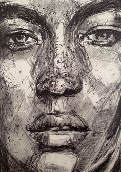W. DECHANT  DAILY PORTRAIT - 28.72014 - 17 x 24 cm Graphite / paper NEXT TOMORROW