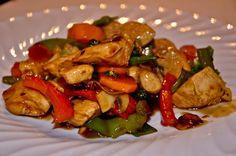 Ovo je jedan od mojih omiljenih recepata za wok. Brz, jednostavan i lagan za napraviti.