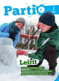 Pääkaupunkiseudun Partiolaisten vaeltajatapahtuma Ylitys 1/2015: jäänveistorasti.