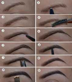 how to draw eyebrow - I'm starting to lose mine from chemo. I'll probably need this