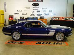 1970 Boss 302 Mustang Fastback Designed by Chip Foose Mustang Fastback, Mustang Cars, Ford Mustangs, Blue Mustang, Shelby Gt500, Old Muscle Cars, American Muscle Cars, Range Rovers, Classic Car Show