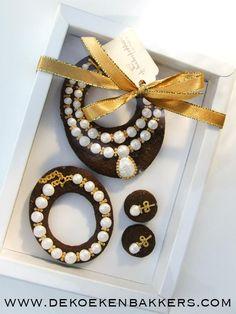 ♔Pearl Set Cookies